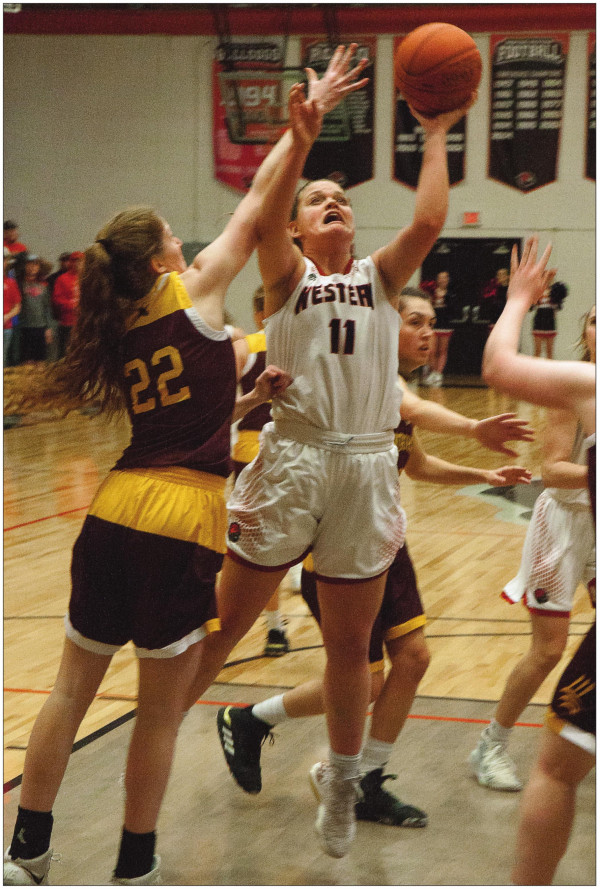 Lady Dawgs outted in league semifinal